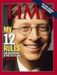 Bill Gates on Time Magazine Cover
