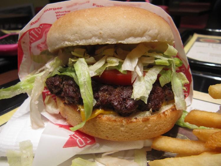 Fat Burger Kuwait, Single burger