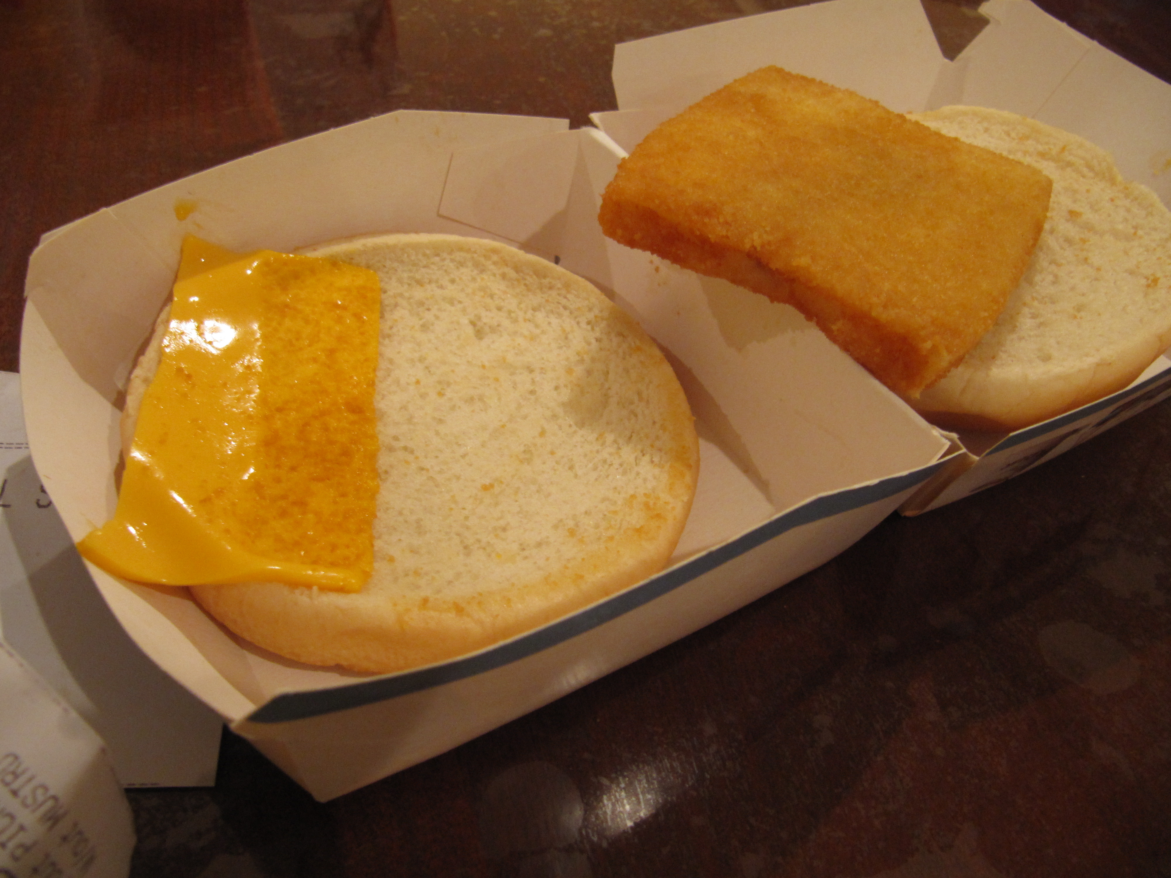 Mcdonald s the buz fairy for Give me that filet o fish