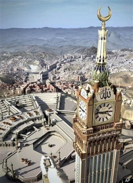 World's Largest Clock in Macca Saudi Arabia 5