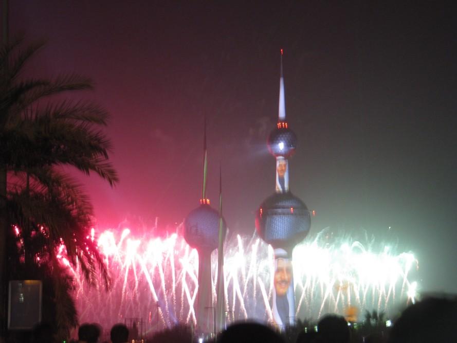 Kuwait Towers Giant Fireworks Show 13