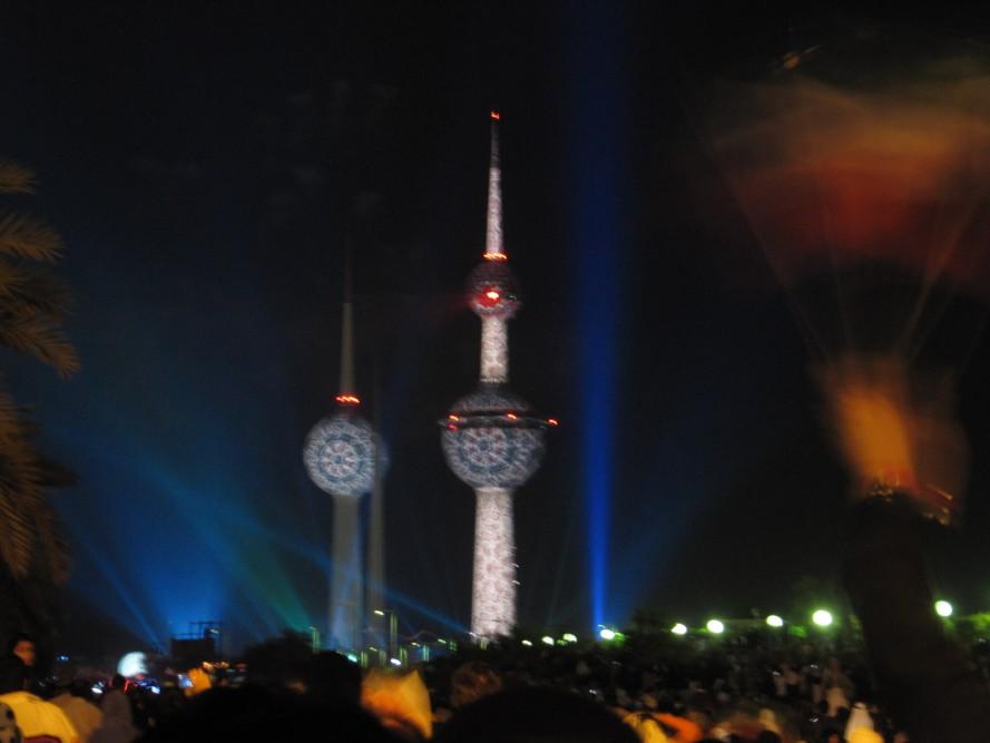 Kuwait Towers Giant Fireworks Show 24