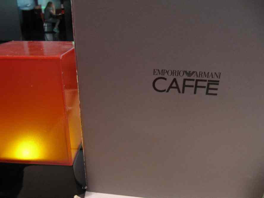 Armani Cafe in Mall of Emirates Veal Milanese & Truffle Dishes 1